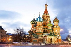 Cheap Flights To Moscow,Russia